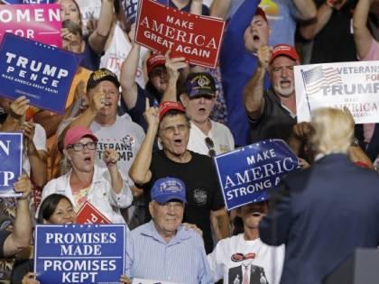 Guerra commerciale, Trump compra bandiere americane made in Cina
