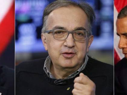 "Il ""miracolo"" di Marchionne: amato da Obama e Trump"