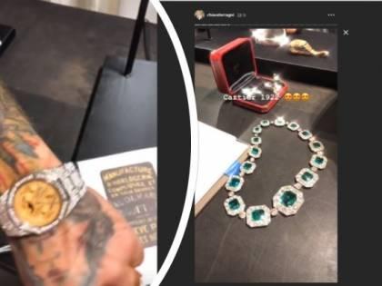 Chiara Ferragni e Fedez, regali extralusso da Cartier per la coppia