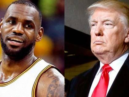 Duro botta e risposta tra LeBron James e Donald Trump