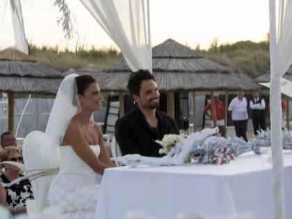 Il matrimonio tra Bianca Guaccero e Dario Acocella