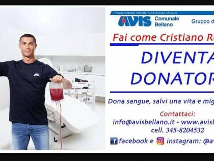Ronaldo, niente tatuaggi per poter donare il sangue
