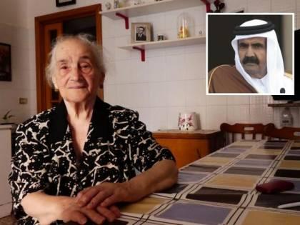 Lo sceicco del Qatar torna in Puglia per ringraziare Teresa