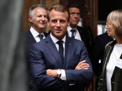 "Aquarius, Macron all'attacco: ""Crisi politica tra Italia e Ue"""