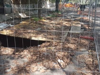 Voragini e crepe, a Roma c'è un quartiere che sta sprofondando