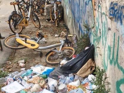 L'ultima moda dei vandali: portarsi a casa il sellino delle bici del Comune