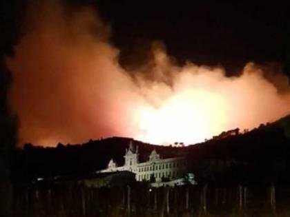 """L'incendio di Pisa, 500 sfollati e molto probabile """"incendio doloso"""""""
