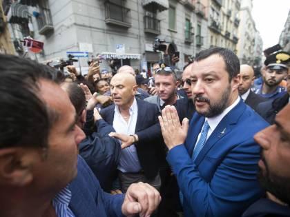 """Camorra, Salvini: """"Togliere patria potestà a chi alleva criminali"""""""