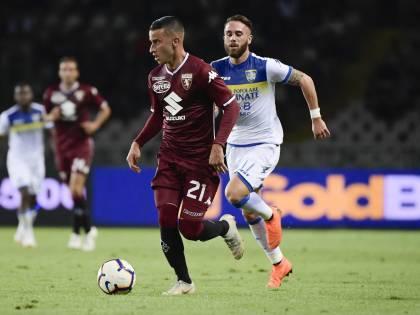 Il Torino soffre ma vince: Frosinone battuto per 3-2
