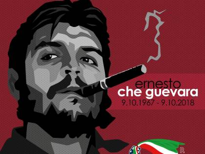 I giovani della Meloni e Fdi celebrano il ricordo di Ernesto Che Guevara