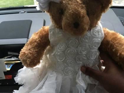 Usa, le rubano l'orsacchiotto con le ceneri della figlia neonata