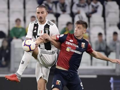 La Juventus si ferma a dieci: il Genoa impone l'1-1 ai bianconeri