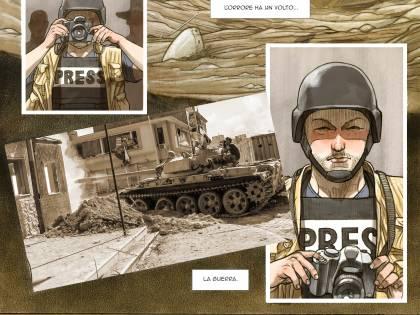 Biloslavo e Micalessin: raccontare la guerra a fumetti