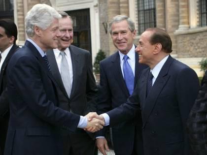 """Bush, il ricordo di Berlusconi: """"Un amico vero e leale"""""""
