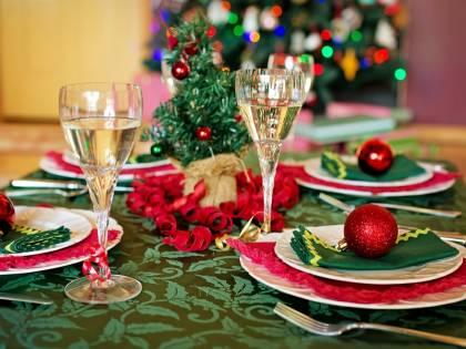 Il Pranzo di Natale staffetta alla solidarietà