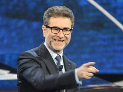 """Matteo Salvini attacca i guadagni di Fabio Fazio: """"Al mese quanto me in 1 anno"""""""