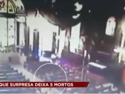 Brasile, attacco in una cattedrale: cinque morti e quattro feriti