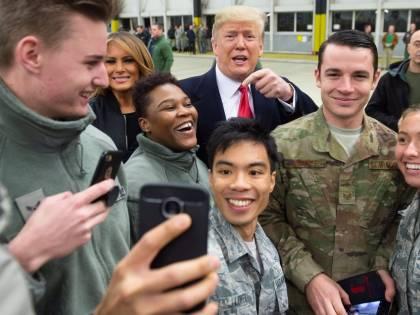 Trump posta un video in Iraq e mette in pericolo i soldati