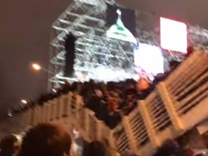Paura a Mosca, 13 feriti nel crollo di un ponte pedonale a Gorky Park