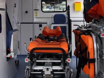 Gela, anziana muore su ambulanza bloccata tra la neve