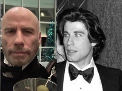 John Travolta: irriconoscibile senza capelli
