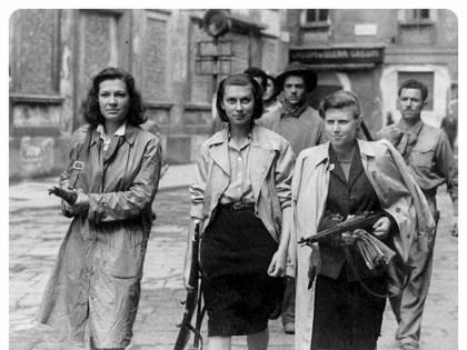 Le Partigiane liberali che lottarono per un'Italia non rossa