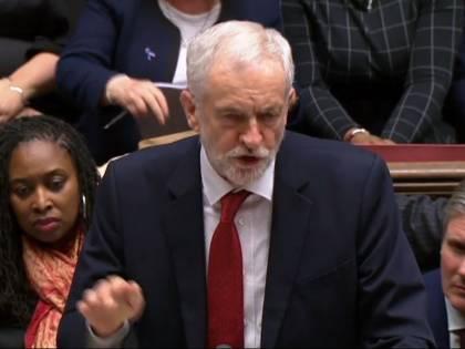 Brexit, Jeremy Corbyn presenta mozione di sfiducia contro May