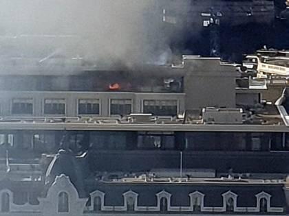 Incendio all'attico del prestigioso Hotel de Paris di Montecarlo