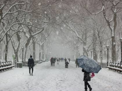 Freddo record Usa, 21 morti: New York e Chicago nella morsa del gelo