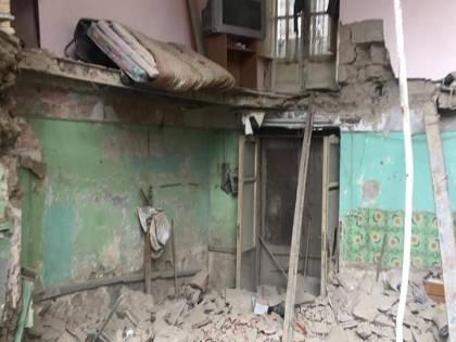 Palazzo crollato ad Afragola