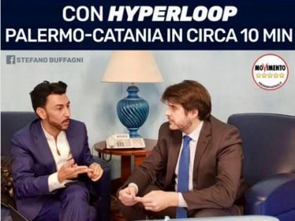 """Hyperloop in Italia: """"Palermo-Catania in soli 10 minuti"""". Ecco la sparata del M5s nella regione più disastrata"""