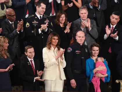 Melania Trump torna al fianco del marito dopo 39 giorni di assenza