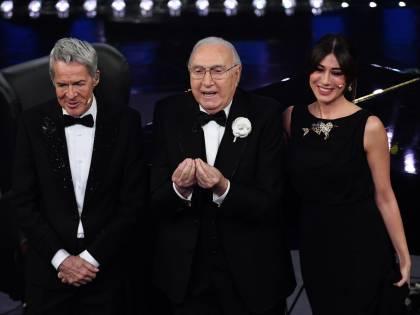 Sanremo, Pippo Baudo torna al Festival e l'omaggio a Luttazzi