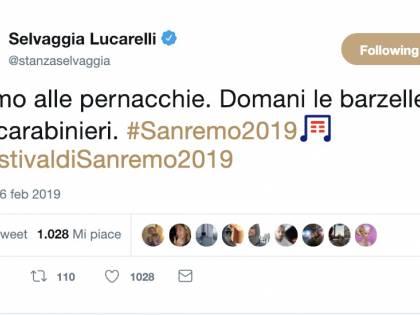 Selvaggia Lucarelli punge Sanremo: l'affondo su Bisio-Baglioni