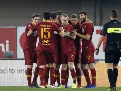 La Roma cala il tris a Verona: Chievo battuto 3-0