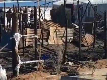 Il ghetto dei braccianti distrutto dall'incendio Un morto nelle fiamme
