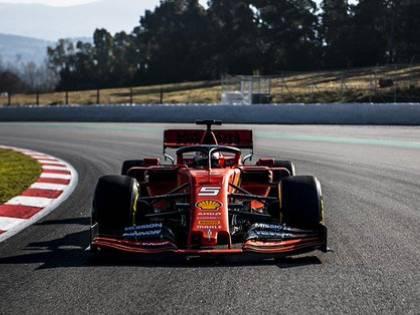 F1, iniziati nel segno della Ferrari i test invernali a Barcellona