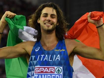 Atletico, europei indoor: Tamberi d'oro nel salto in alto