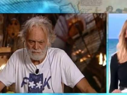 Isola, Riccardo Fogli dice addio alla tv