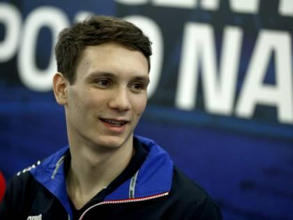 """Manuel Bortuzzo: """"Punto ancora alle Olimpiadi, la mia vita è sempre la stessa"""""""