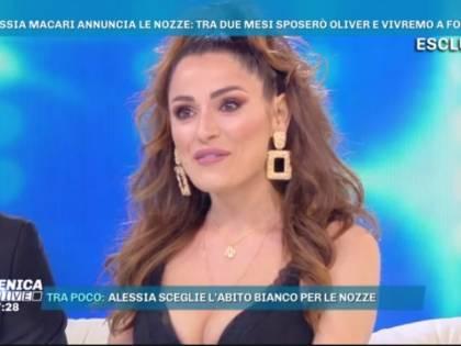 """Alessia Macari prima del matrimonio: """"Sono dimagrita per lo stress"""""""
