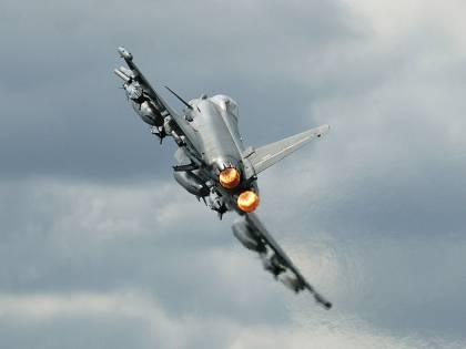 Islanda, due Typhoon italiani intercettano bombardieri russi