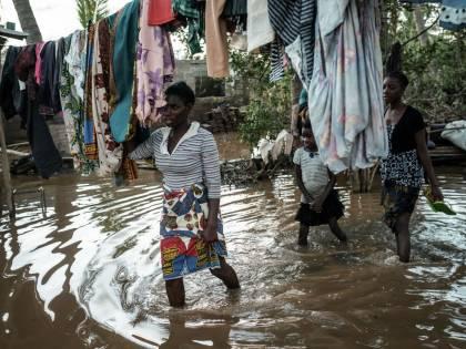 Ciclone in Mozambico, i bambini hanno subito gravi traumi psicologici
