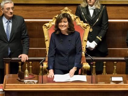 """Senato, Berlusconi: """"Da Casellati equilibrio e imparzialità, per Forza Italia orgoglio che si rafforza"""""""
