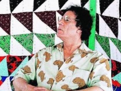 In vendita la tenda beduina del leader Gheddafi
