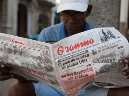 Crisi economica a Cuba, il governo riduce le pagine dei giornali