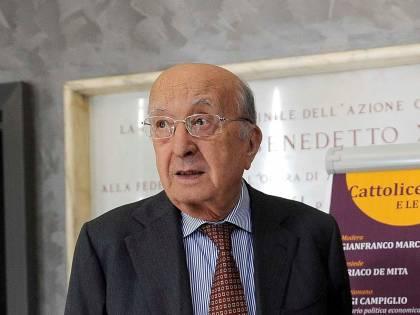 Ciriaco De Mita si candida a 91 anni nuovamente a sindaco di Nusco