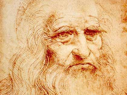 Trovata ciocca di capelli di Leonardo da Vinci