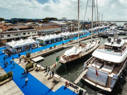 """Barche da sogno e eventi: in scena a Viareggio la """"flotta"""" del Versilia Yachting Rendez-vous"""