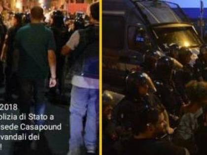 Aggressione al corteo antifascista: avviso conclusione indagini per 28 militanti di Casapound